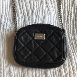 Michael Kors Black leather Mini Chain Bag
